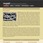 Sistema web colaborativo Mupart desarrollado en PHP + DB2 por Pedro